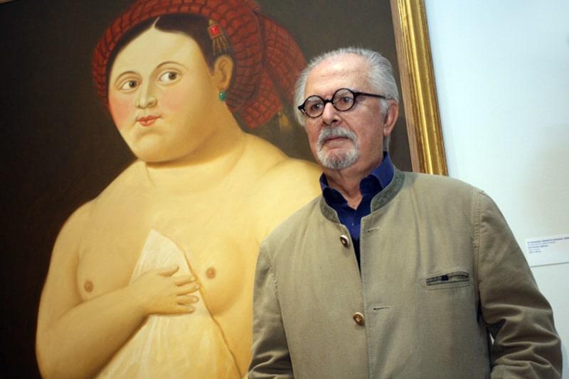 Fernando Botero, pintor y escultor