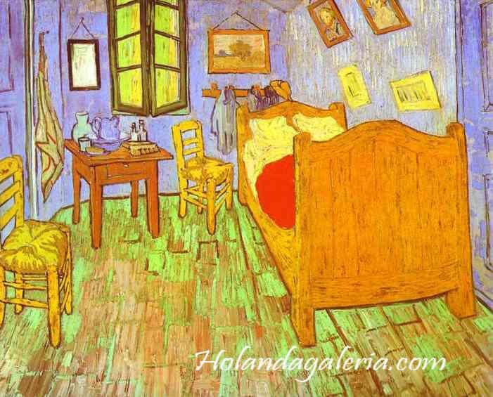 El Museo Van Gogh 'El dormitorio'