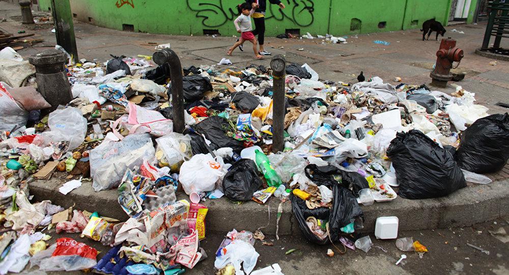 Viven de la basura
