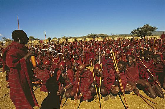 Maasai-Initiates Culturas de Carol Beckwith y Angela Fisher