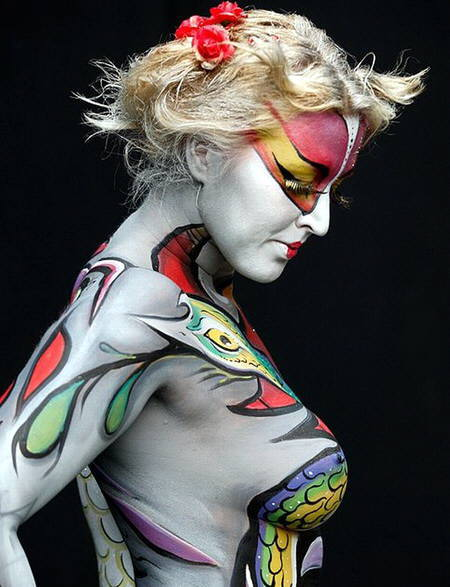 body-art-espectacular-10 Body Painting