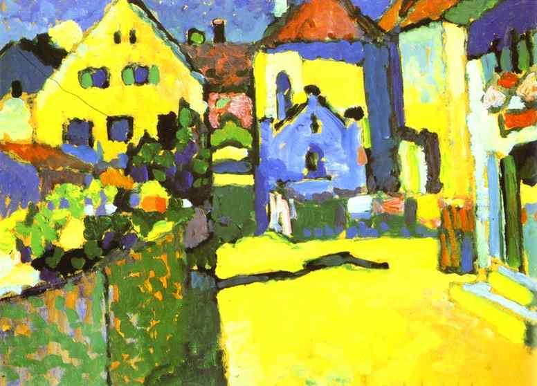 kandinsky_Grungasse-in-Murnau.-1909