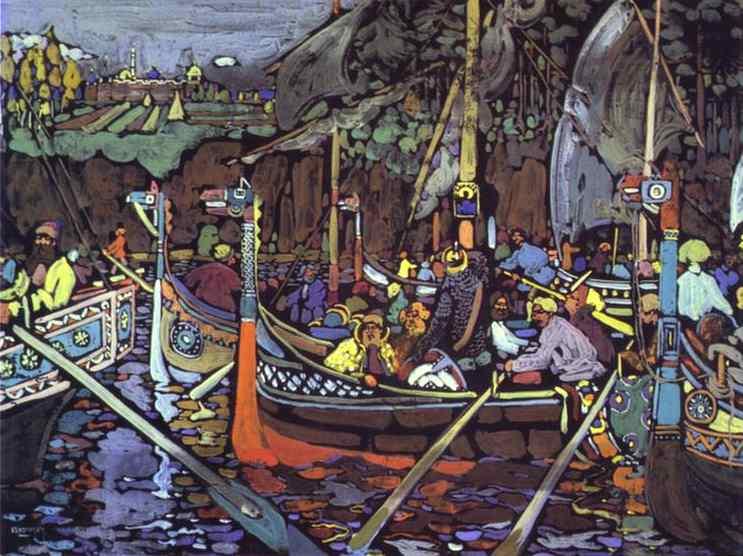 kandinsky_Volga-Song.-1906